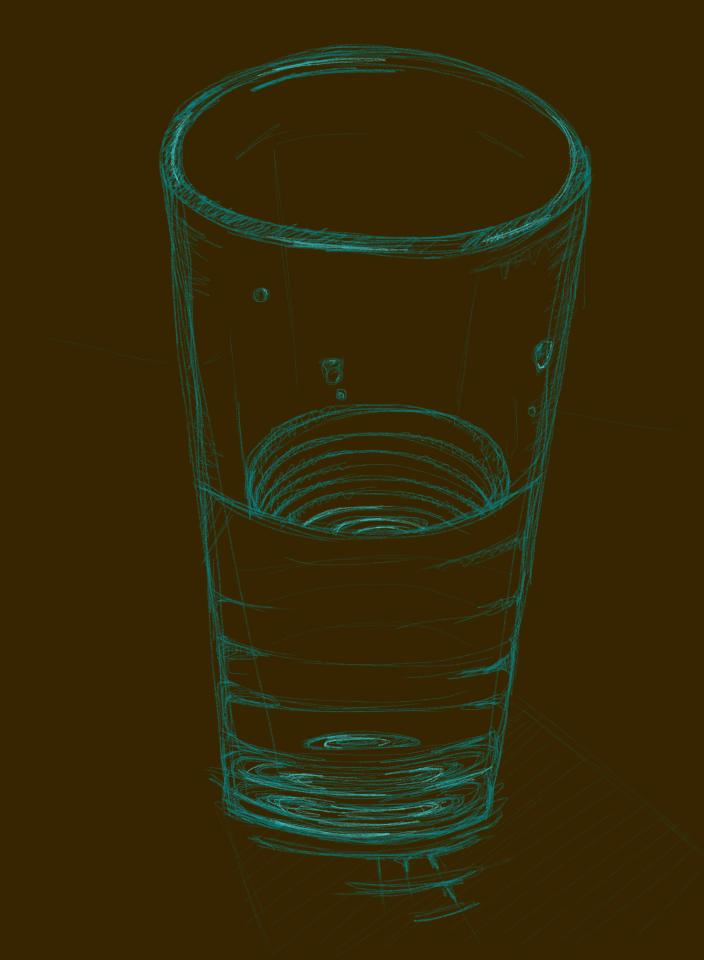 Glassy Water