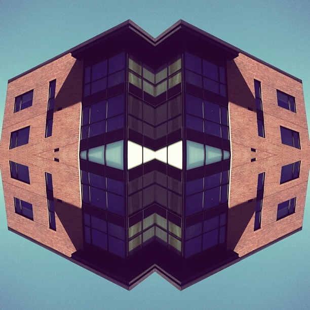 Brick face #mirrorgram