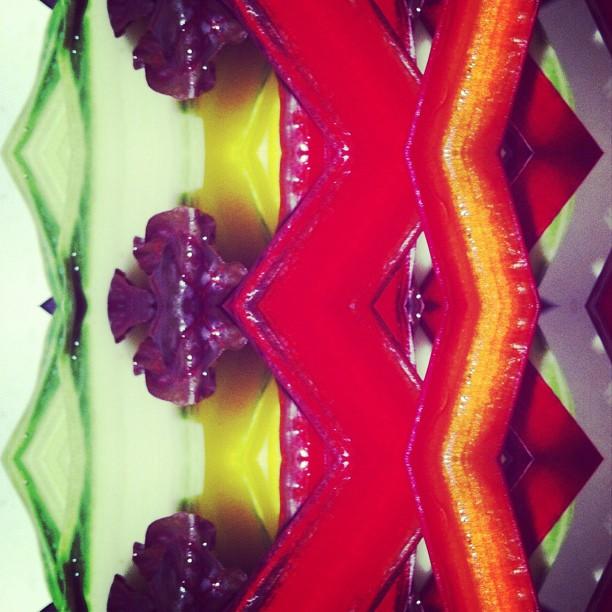 Rainbow chard #mirrorgram