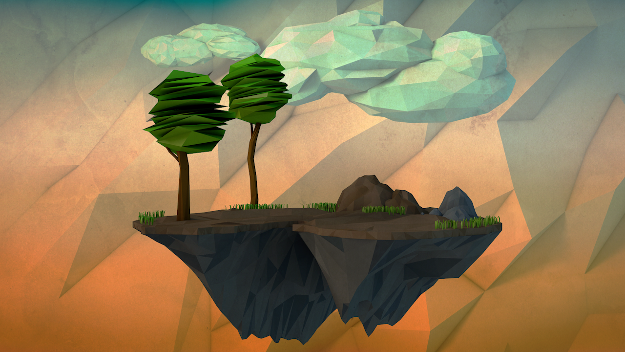 Low Poly Float Island