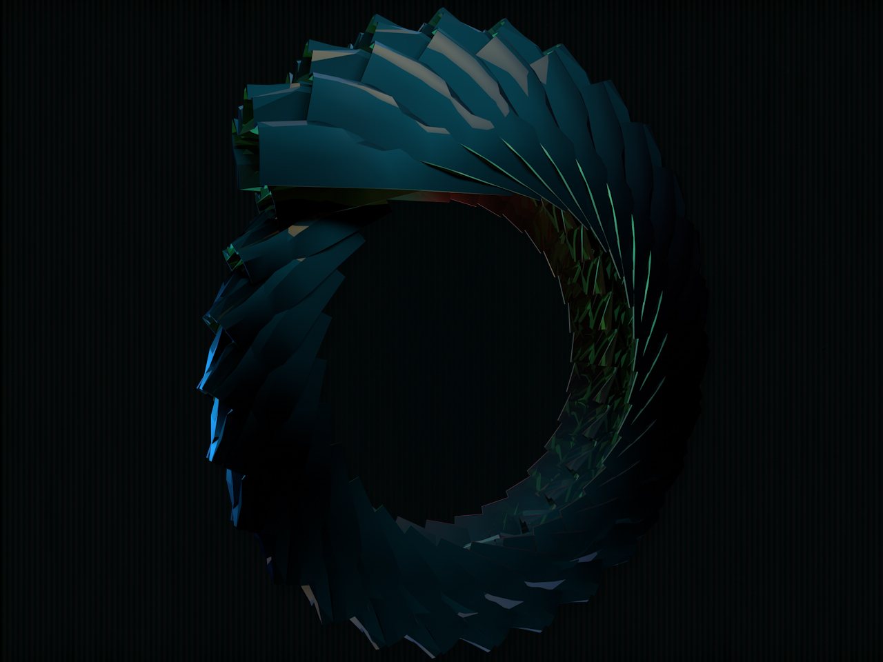 Low-Poly Spiral