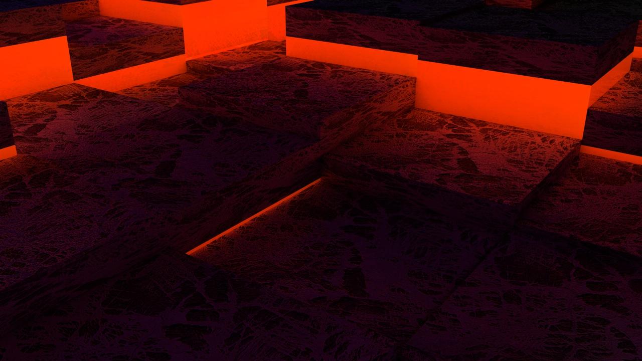 Glowing Steps