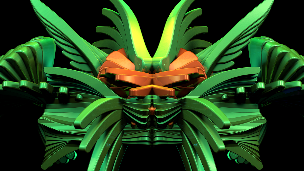 Green Rorschach