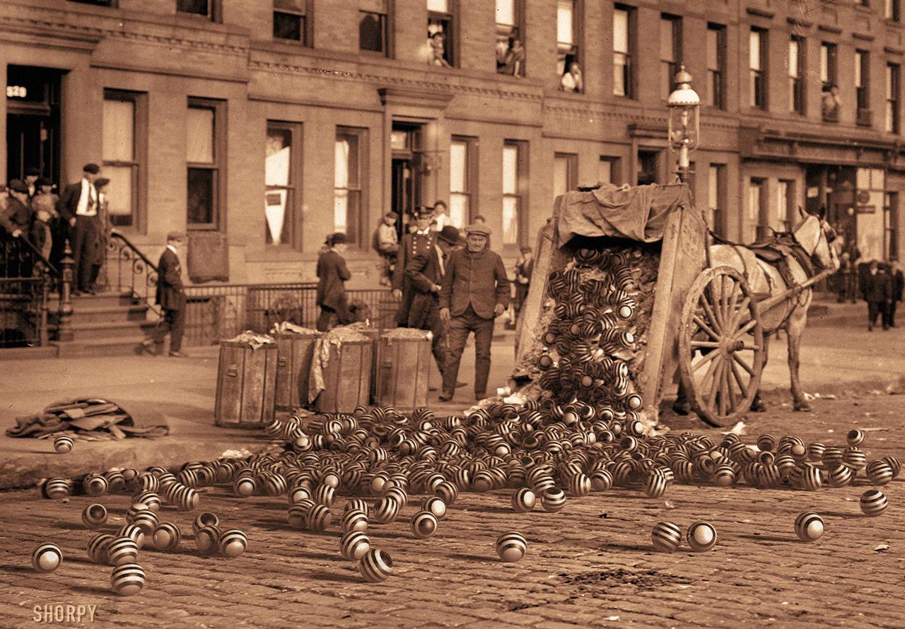 1911 Orb Spill